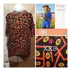 LuLaRoe Irma Tunic Size XXS Brand New